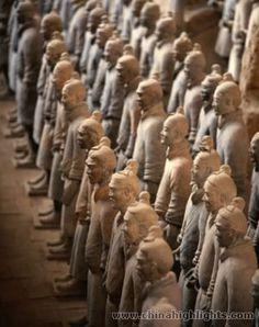 Xian China, Terracotta Soldiers