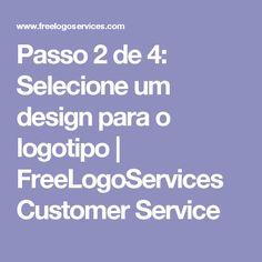 Passo 2 de 4: Selecione um design para o logotipo | FreeLogoServices Customer Service