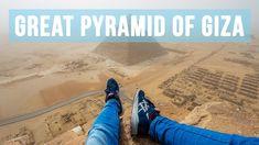 Climbing the Great Pyramid of Giza (146 metres) Blog-Story: http://andrejcie.com/2016/01/25/cairo-egypt/ Contact: andrej.ciesielski@googlemail.com Instagram:...