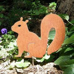 Wondering where all the squirrels went?  Just plop one in your garden.  So cute.