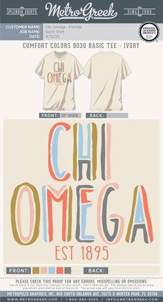 Chi Omega Shirt | Spirit Shirt | Bid Day Shirt | Recruitment | Chi O | Metro Greek | Sorority Shirts | Greek Tees | #chio #sorority #sororityshirts #metrogreek #bidday #recruitment