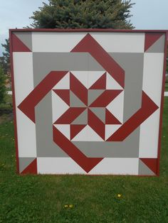 Barn Quilt Patterns for Quilts - Bing images Barn Quilt Designs, Barn Quilt Patterns, Pattern Blocks, Quilting Designs, Star Quilts, Easy Quilts, Quilt Blocks, Amish Barns, Painted Barn Quilts