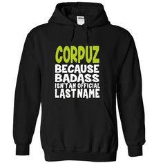(BadAss) CORPUZ - #statement tee #tshirt frases. CLICK HERE => https://www.sunfrog.com/Names/BadAss-CORPUZ-gziaaxrqzu-Black-44843005-Hoodie.html?68278