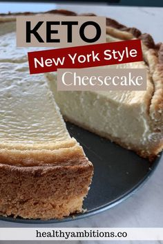 This amazing keto cheesecake with a low carb crust will make you feel like you are cheating on keto with each and every bite. #glutenfree #grainfree #sugarfree #keto #lowcarb Basic Cheesecake, New York Style Cheesecake, Cheesecake Recipes, Dessert Recipes, Sugar Free Desserts, Frozen Desserts, Gluten Free Desserts, Ketogenic Desserts, Food Swap