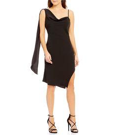 Keepsake Needed Me One-Shoulder Sash Dress #Dillards