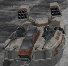 Tanque Repulsor Lanzamisiles AAC- 1