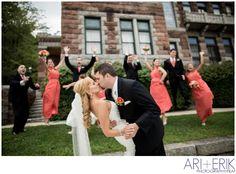 •Bridal Party August Wedding    ari + erik wedding photographers•