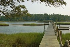 Go to Wilmington, NC, where my favorite show was filmed. (Dawson's Creek)