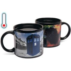 Heat Changing TARDIS Mug and other Dr who themed stuff for your house