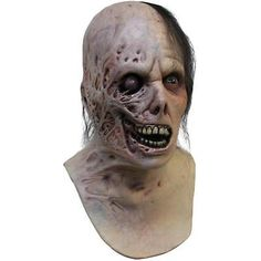 Halloween Adult Mask Burnt Horror Latex Costume Accessory Face Neck Full Creepy