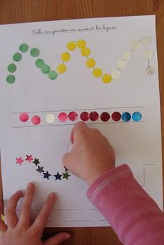 Cette après-midi, j'ai proposé à ma puce cette activité que j'ai vue à plusieurs reprises sur des blogs Montessoriens. Je me suis dit que Lé...
