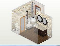 Photographic Gallery virtual bathroom makeover