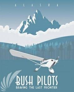 Alaskan Bush Pilots – print