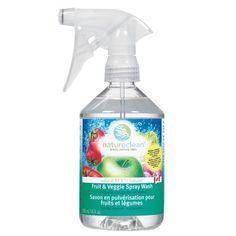 Nature Clean - Natural Fruit & Veggie Spray www.envig.com