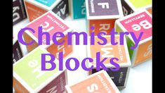 Your kids will learn the periodic table of elements in no time with this fun chemistry blocks. A fun way to play while introducing your kids to periodic table.