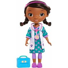 """My Friend Pet Vet Doc Doll by Doc McStuffins , 91822 for Girls, 14"""" doc doll *** Be sure to check out this awesome product."""