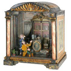 Diorama of an Italian 17th century Pharmacy