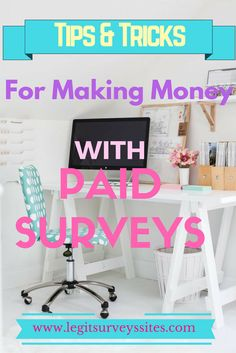 Making money with paid surveys As with any other way of earning money…