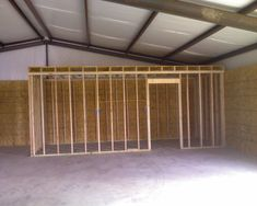 Steel Building Homes | Metal Buildings - cONSTRUCTION Process of a 24' x 36' building.