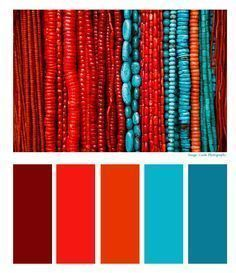 Turquoise Color Combinations 16 me for Cute Turquoise Pantone!Turquoise Color Combinations 16 Turquoise Color Combinations 16 me for Cute Turquoise Pantone! Coral Color Schemes, Color Schemes Colour Palettes, Red Colour Palette, Kitchen Colour Schemes, Color Combos, Kitchen Colors, Red Kitchen, Kitchen Ideas, Combination Colors