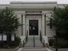 The library opened in 1910 and now serves Hollister, CA as the City Hall. Carnegie Library, Morro Bay, Hollister California, Motorcycle Travel, Northern California, Small Towns, The Neighbourhood, City, Places