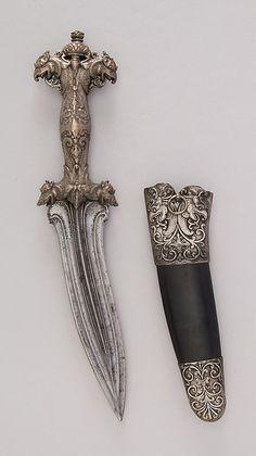 Dagger (Siha Kaetta) with Sheath Date: ca. 1700 Culture: Sri Lankan