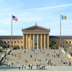 The Rocky Statue and the Rocky Steps — visitphilly.com - You know, for obligatory touristy stuff.