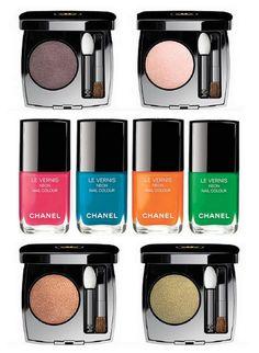 Летняя коллекция макияжа Chanel Neon Wave Makeup Collection Summer 2017