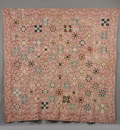 Pieced Cotton Patchwork Quilt | Sale Number 2558M, Lot Number 372 | Skinner Auctioneers
