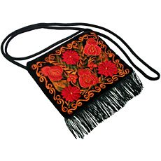Fiery Flowers Purse - my old purse is shot.