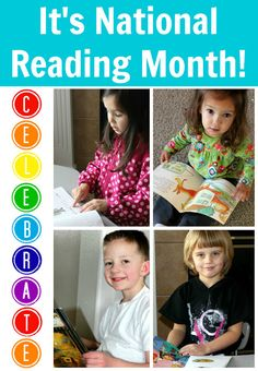 Books, Activities, Resources and more!  Come Celebrate National Reading Month with us!