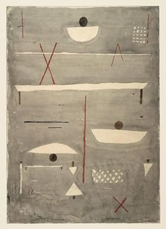 Paul Klee (1879 -1940) - Signs on the field (Zeichen auf dem Feld), 1935 Zentrum Paul Klee, Bern, Switzerland