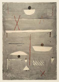 Paul Klee (1879 -1940) - Signs on the field (Zeichen auf dem Feld), 1935 Zentrum Paul Klee, Bern, Switzerland