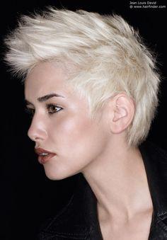 short punk attitude hairstyle
