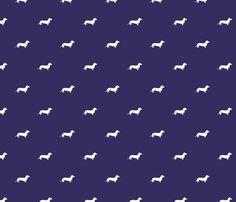 Background Patterns Blue Doggis