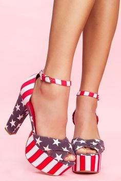 I'm all about the American flag!
