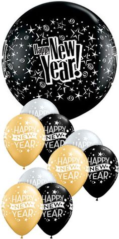 new year Funny Wishes - Giant 36 Black Happy New Year & 11 Gold & Silver Latex. Happy New Year Pictures, Happy New Year Message, Happy New Years Eve, Happy New Year Quotes, Happy New Year Wishes, Happy New Year Greetings, Quotes About New Year, Happy Year, Merry Christmas And Happy New Year