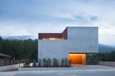Bitten House by arnau estudi d'arquitectura in Sant Feliu de Pallerols, Spain, 2012