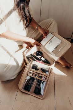 The best travel gear and accessories for the modern traveler. These are perfect for weekend sleepovers, beach days, and summers in the south of France. Designed and created by Shay Mitchell. Suitcase Packing, Travel Packing, Travel Luggage, Travel Bags, Packing Tips, Pack Suitcase, Bali Travel, Travel Backpack, Sacs Design