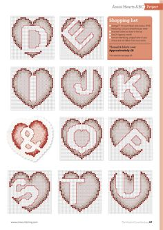 Love Is In The Air From The World of Cross Stitching N°238 February 2016 4 of 5