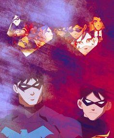 Dick Grayson's Evolution