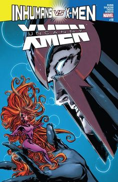 Uncanny X-Men n°18 (15.02.2017) // AN INHUMANS vs. X-MEN TIE-IN! OCCUPY NEW ATTILAN! With the mutant invasion of the Inhuman capital city now complete, MAGNETO seeks to lock it down by deploying his newly-acquired army of mutant sleepers. But will he take his mission a step too far?  #uncanny #xmen #marvel #comics