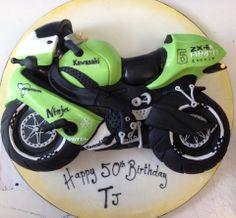 Kawasaki Motorbike: Richard's Cakes - http://www.richardscakes.co.uk