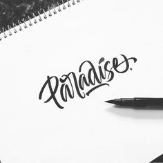 Work by @ritchieruiz #typography #betype #lettering...