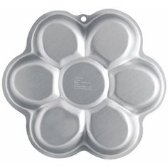 title: Wilton Dancing Daisy Cake Pan out of 5 stars via 48 ratings see details in Kitchen & Dining in Specialty & Novelty Cake Pans Create all kinds of fun flower cakes with this shaped pan Color: Silver Material: Aluminum 12 x 12 x 2 in. x x 5 cm)… Read Wilton Cake Pans, Cake Mold, Number One Cake, Shaped Cake Pans, 2 Layer Cakes, Checkerboard Cake, Dancing Daisy, Daisy Cakes, Daisy Girl Scouts