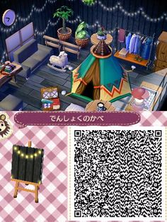 "my-beautiful-animal-crossing: "" aprikokocrossing: ""Not my creation. I want to spread this lovely qr code. my-beautiful-animal-crossing: "" aprikokocrossing: ""Not my creation. I want to spread this lovely qr code. Animal Crossing 3ds, Animal Crossing Qr Codes Clothes, Animal Crossing Pocket Camp, Tier Wallpaper, Code Wallpaper, Animal Wallpaper, Forest Wallpaper, Wallpaper Wallpapers, Amazing Animals"