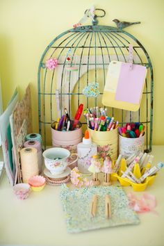 20 Lovely Repurposed Bird Cages | Daily source for inspiration and fresh ideas on Architecture, Art and Design