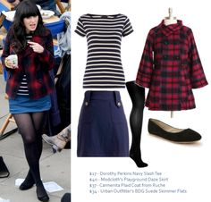 Zooey Deschanel Style Blog