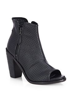 Summer to Fall Preview - Rag  Bone Noelle Perforated Leather Boots