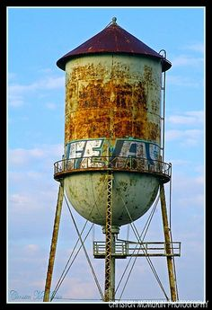 Rusted Water Tower